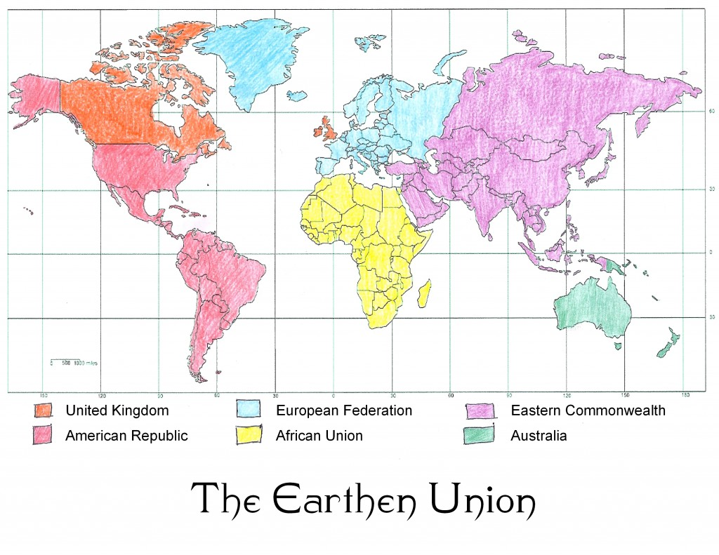 Earthen Union map