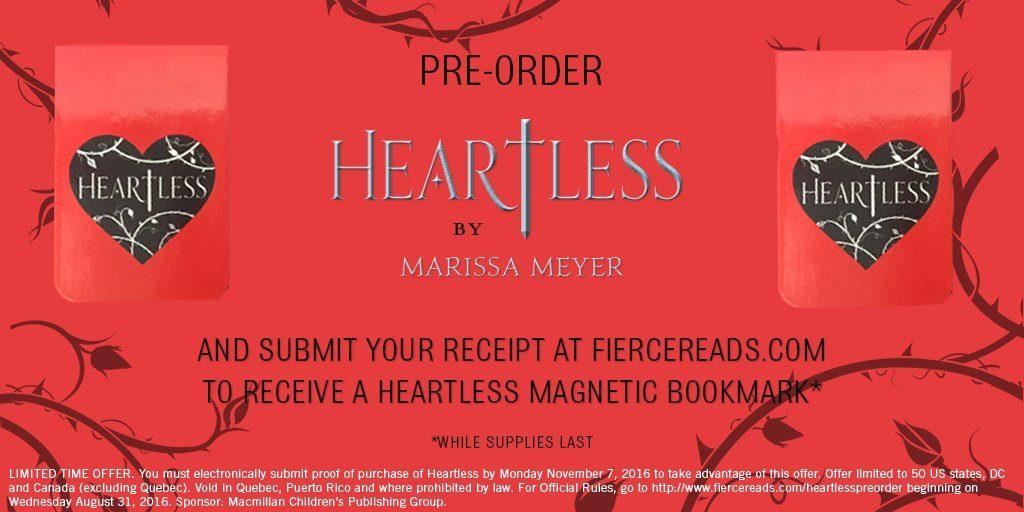 Heartless Pre-order