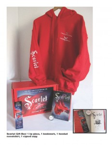 Scarlet gift boxes