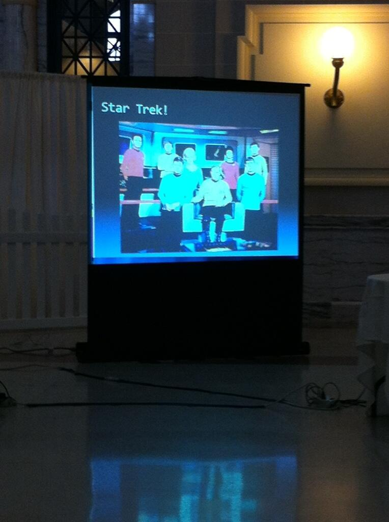 Keynote Star Trek