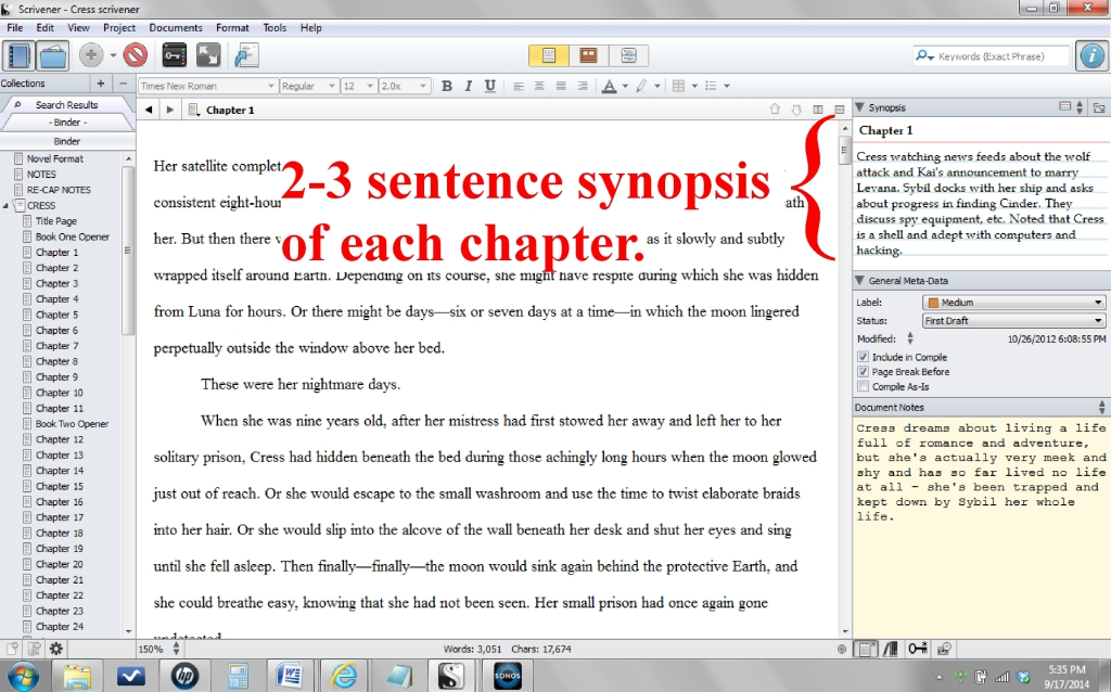 deadline chapter 6 summary